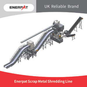 Scrap Metal Shredding Line