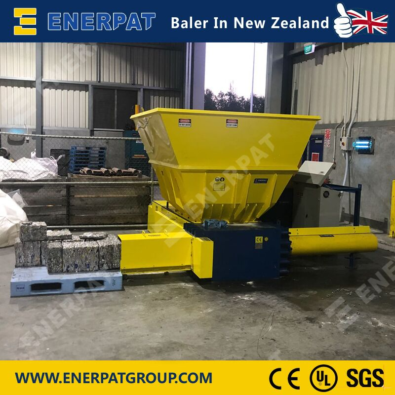 Automatic Scrap Metal Baler for waste Aluminum