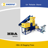Bagging Baler Machine For Textile