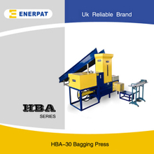 Bagging Baler Machine For mineral cotton fiber