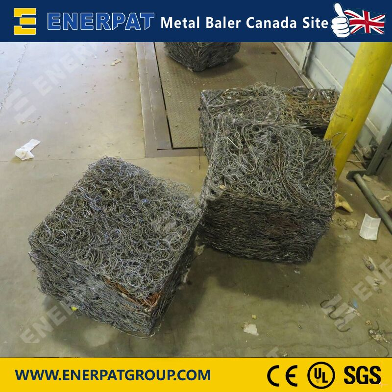 Automatic scrap metal Baler (AMB-L2520)