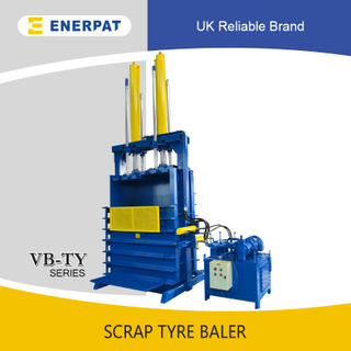 Quality Scrap Tyre Baler (100 Tons)