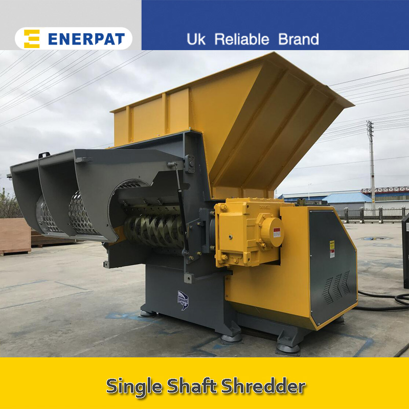Single Shaft Shredder Application