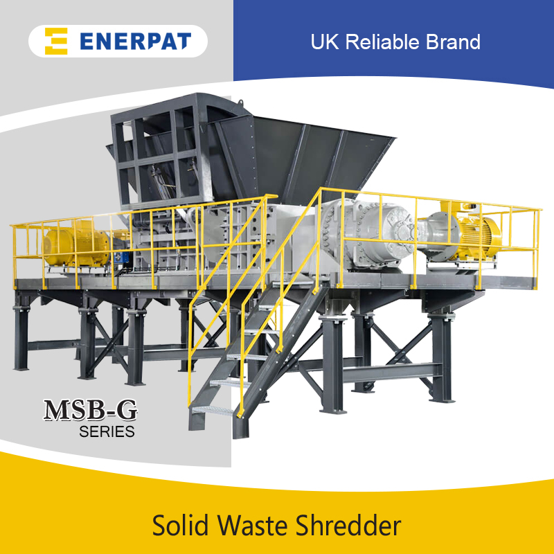 two shaft shredder application