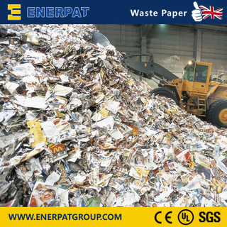Ecnomic Single Shaft Shredder For Waste Paper