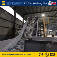 PE Film Washing Line