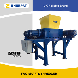 Industrial Two Shafts Shredder