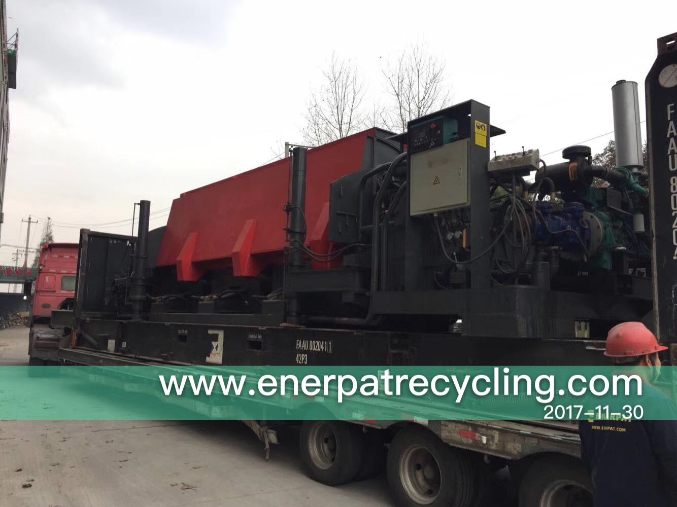 Enerpat Mibile Car Baler Go To Singapore