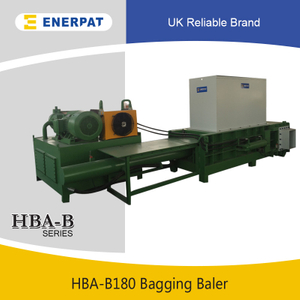 High Efficiency Hay Horizontal Bagging Baler Machine for Sale