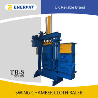 Swing Chamber Clothing Baler (55-100kgs)