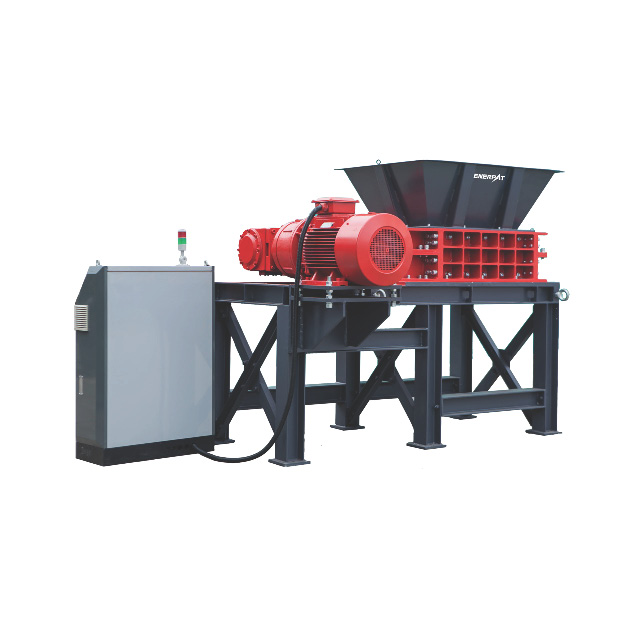universal Two Shaft Shredder for Security Document