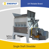 High Quality Economic Plastic Films Single Shaft Shredder Machine Manufacturer