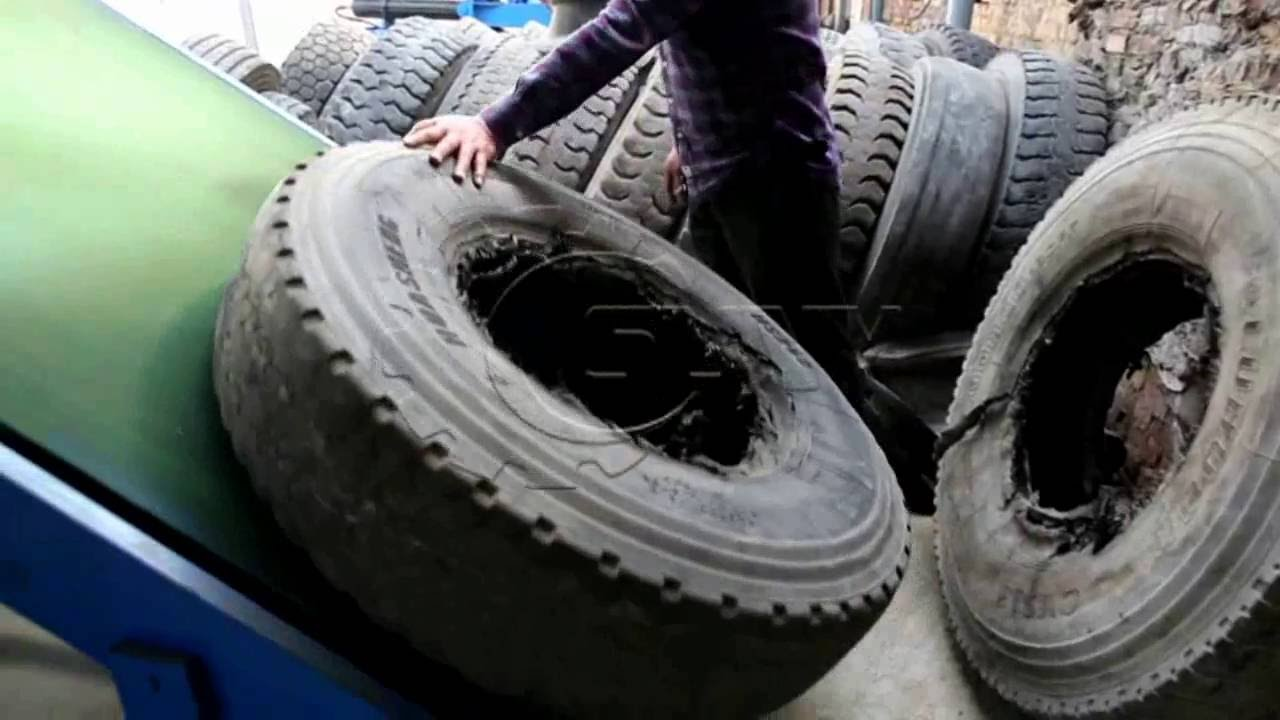 Waste Tyre Recycling Plant(500-2,000kg/hr)