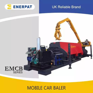 Mobile Scrap Metal Balers