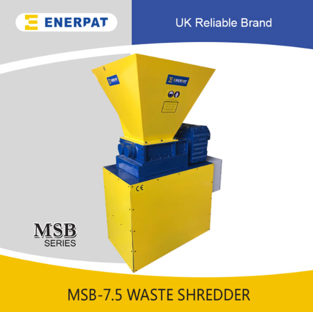 Quality Cardboard box Two Shaft Shredder