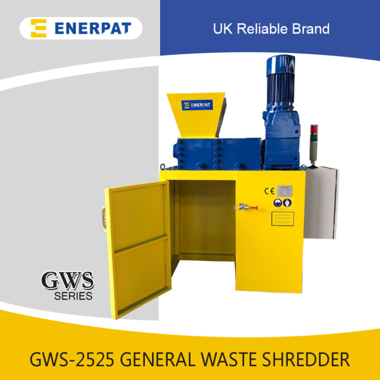 Scrap Paper Two Shaft Shredder MSB-E3